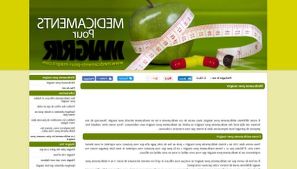 TOP 5 médicament pour perdre du poids