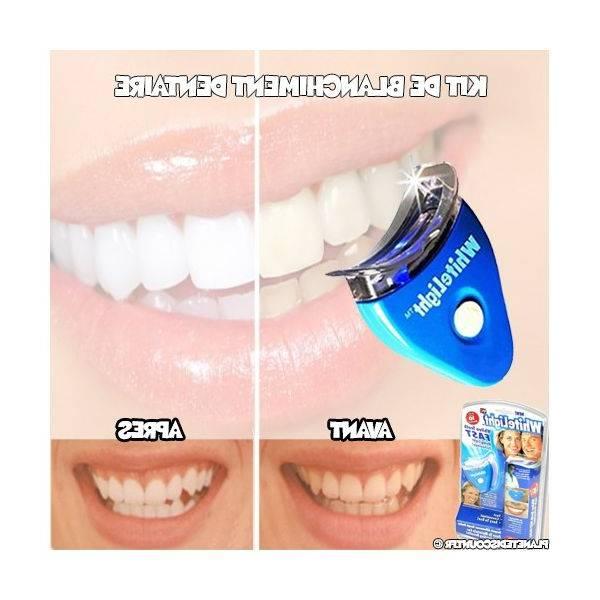 blanchiment dentaire gouttière
